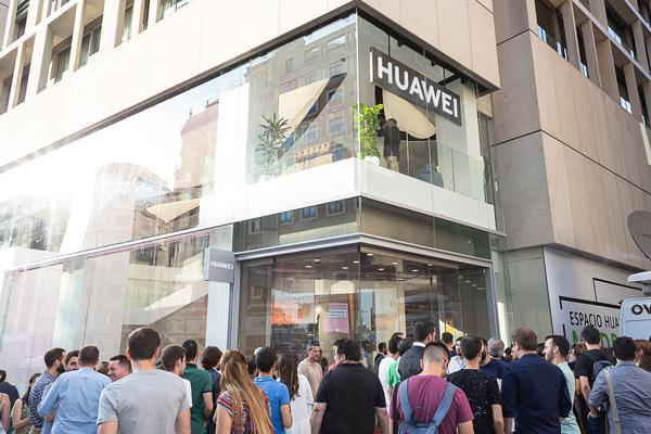 Huawei winkel madrid