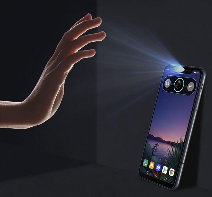 LG G8S Air Motion