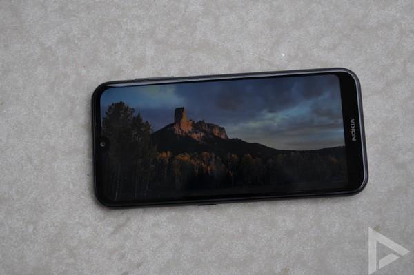 Nokia 4.2 scherm