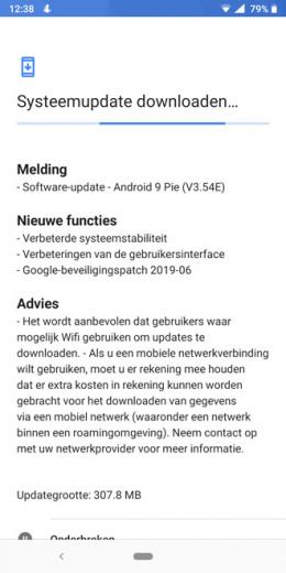 Nokia 7 Plus beveiligingsupdate juni 2019