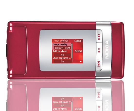 Nokia N76 rood