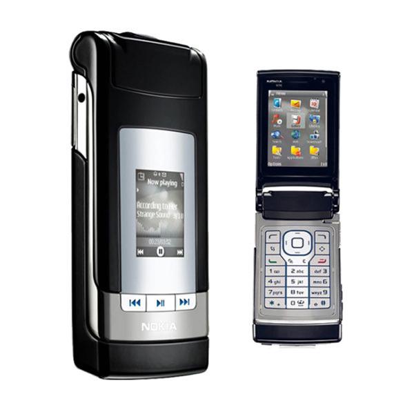 Nokia N76 Zwart