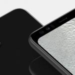 Nieuwe Pixel 4 renders lekken uit 'met groot voorhoofd'