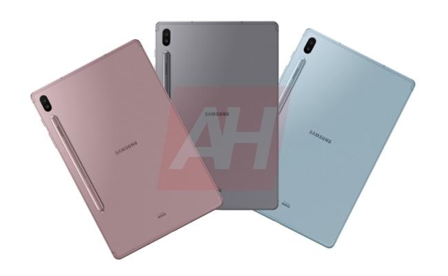 Samsung Galaxy Tab S6 kleuren