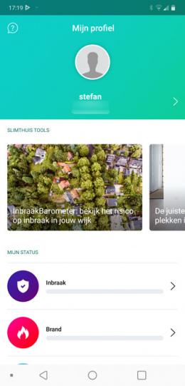 SlimThuis app