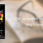De vergeten smartphone: Sony Ericsson Satio