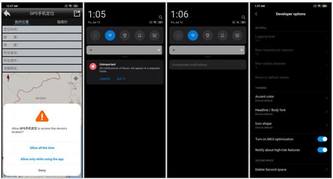 Xiaomi Mi 9 Android Q MIUI 10