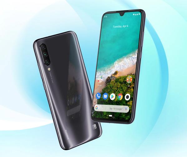Xiaomi Mi A3 grijs