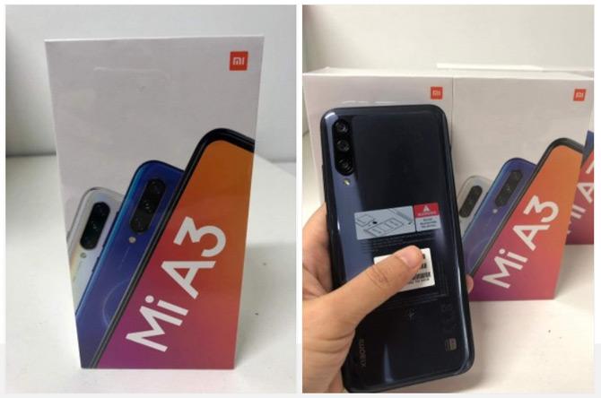 Xiaomi mi A3 live foto