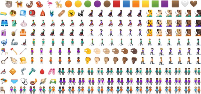65 nieuwe emoji voor Android Q gebruikers