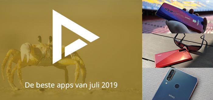 De 10 beste apps van juli 2019 (+ het belangrijkste nieuws)