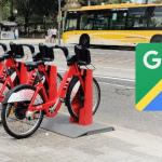 Actuele beschikbaarheid deelfietsen wordt toegevoegd aan Google Maps