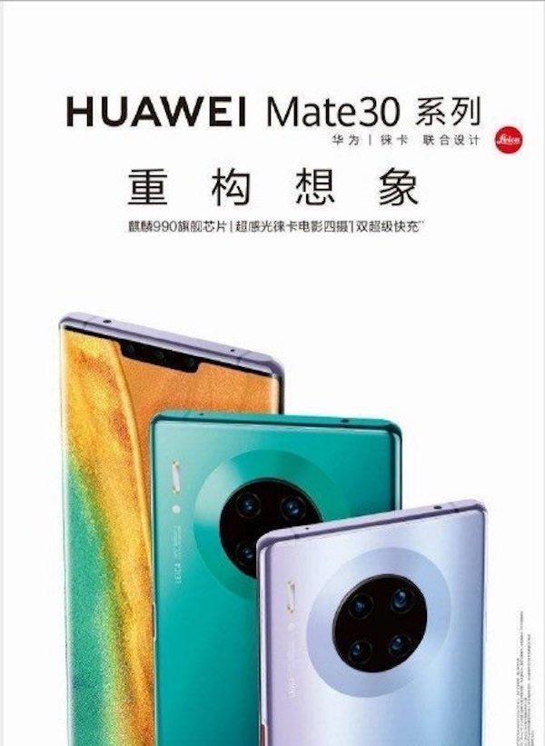 Huawei Mate 30 Pro persfoto