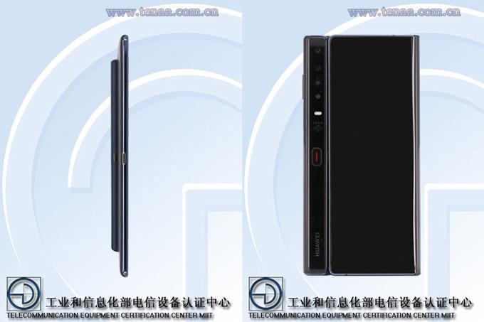 Huawei Mate X tenaa