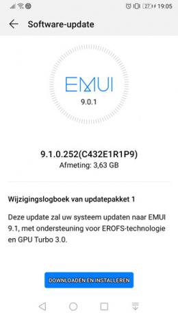Huawei P10 EMUI 9.1