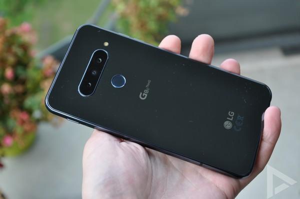 LG G8s achterkant