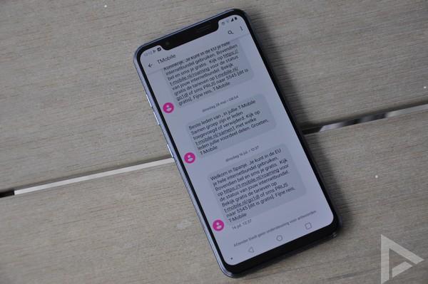 LG G8s SMS
