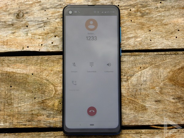 Motorola One Vision bellen