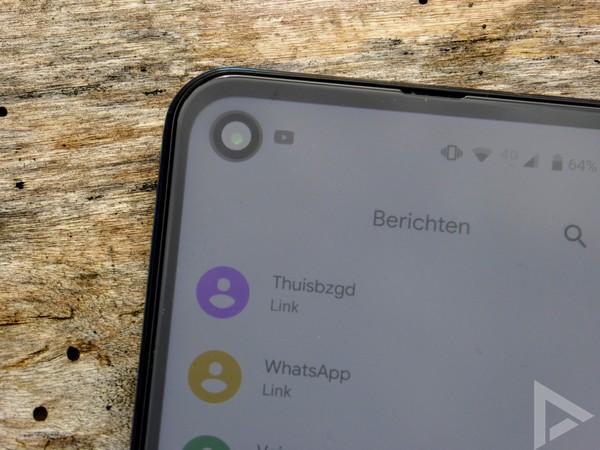 Motorola One Vision punch-hole