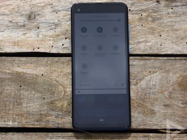 Motorola One Vision snelle instellingen
