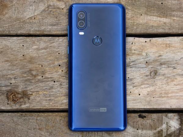 Motorola One Vision achterkant