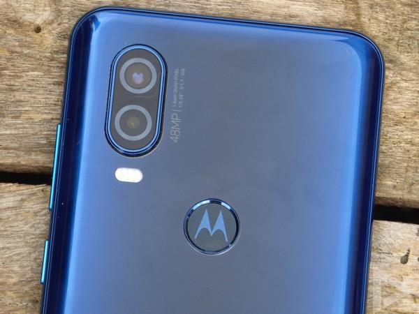 Motorola One Vision vingerafdrukscanner
