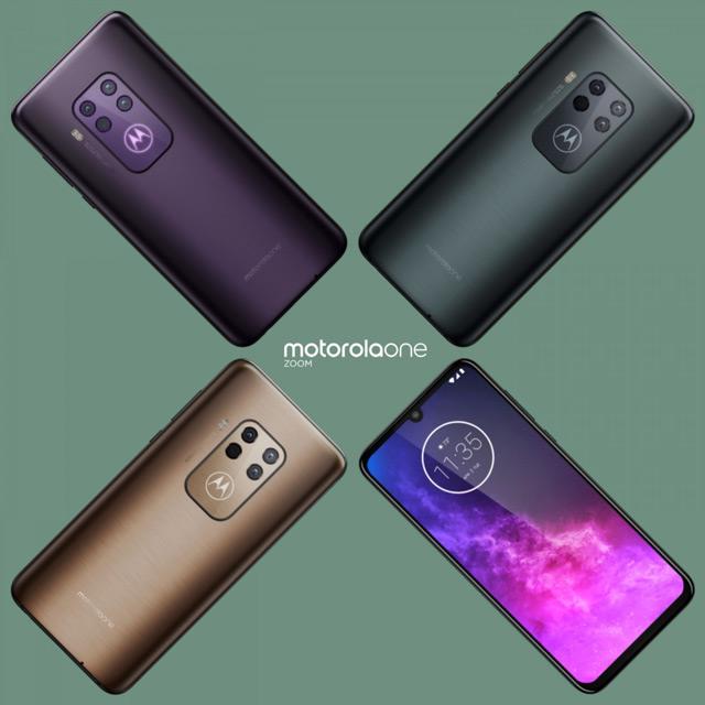 Motorola One Zoom - One Pro