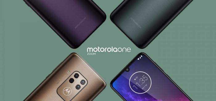 Motorola One Zoom ontvangt beveiligingsupdate van september 2019