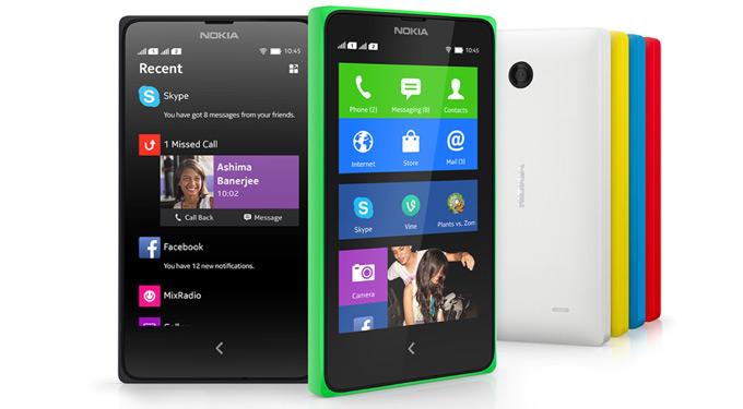 Nokia X Kleuren