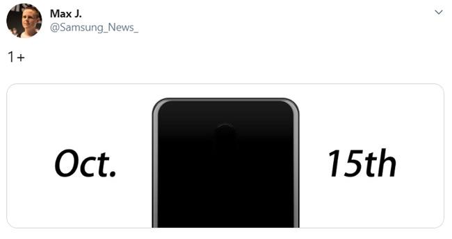 OnePlus 7T 15 oktober