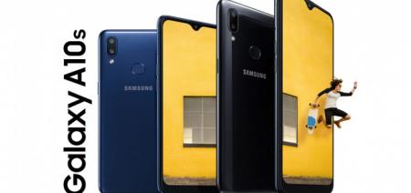 Samsung presenteert Galaxy A10s met 4000 mAh accu en vingerafdrukscanner