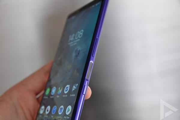 Sony Xperia 1 vingerafdrukscanner