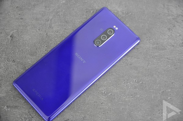 Sony Xperia 1 achterkant