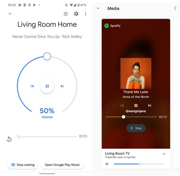 Google Home app nieuw design