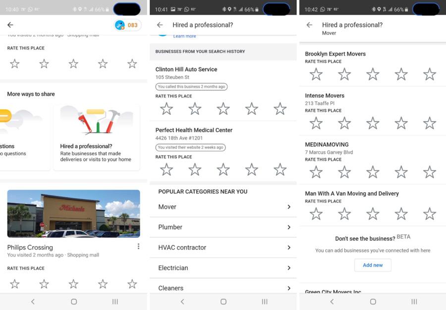Google Maps beoordeling specialist