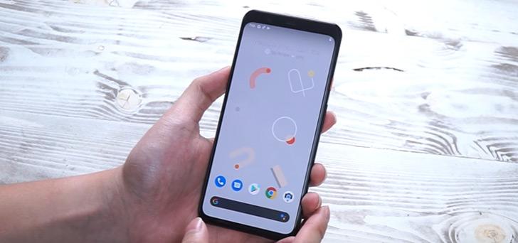 Google Pixel 4 video header