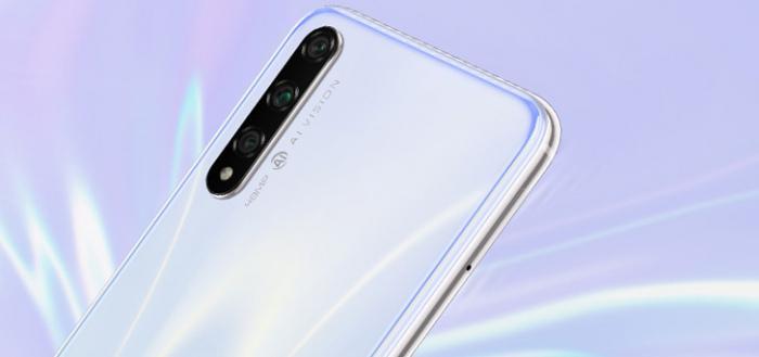 Honor presenteert nieuwe Honor 20S: een goedkoper model