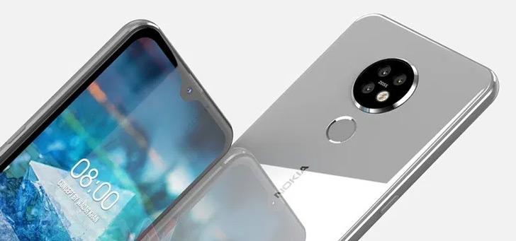 Nokia 7.2: duidelijke renders laten nieuw toestel zien