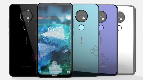 Nokia 7.2 render