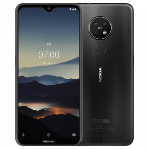 Nokia 7.2 zwart