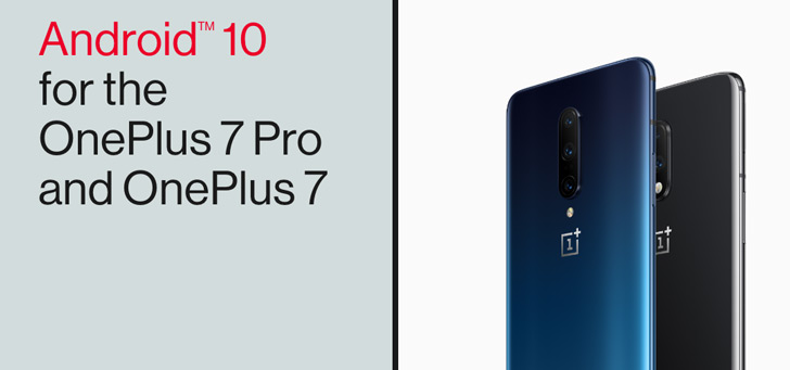 OnePlus 7 en 7 Pro: Android 10 met OxygenOS 10 wordt vanaf nu uitgerold