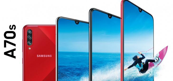 Samsung presenteert wederom nieuw A-serie toestel; de Galaxy A70s