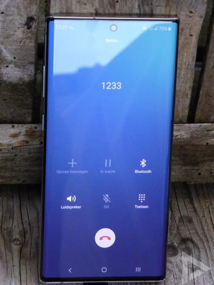 Samsung Galaxy Note 10+ dialer