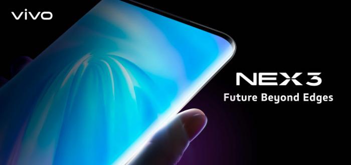 Vivo presenteert Nex 3 met 'waterval-scherm'