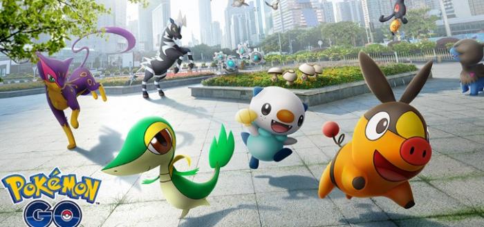 Pokémon GO voegt 5e generatie Pokémon toe aan game