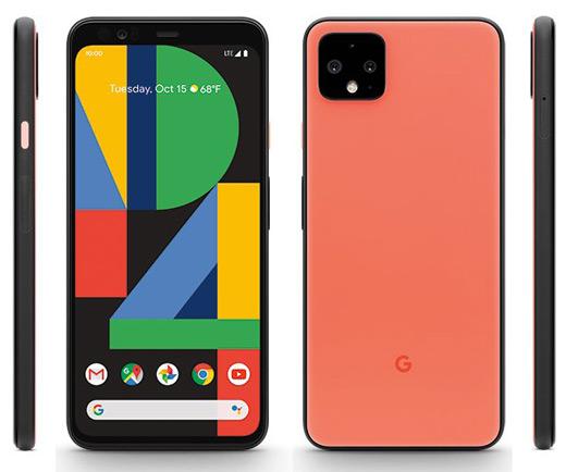 Google Pixel 4 oranje