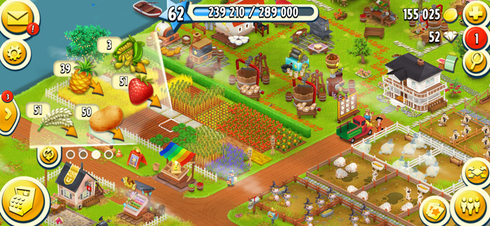 Hay Day oktober-update
