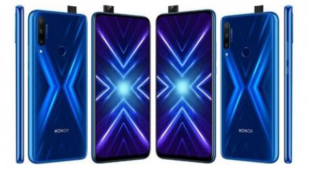 Honor 9X blauw
