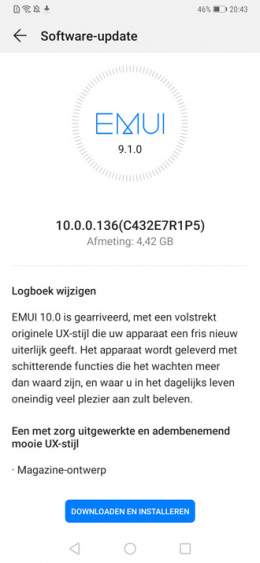 Huawei Mate 20 Pro Android 10 EMUI 10