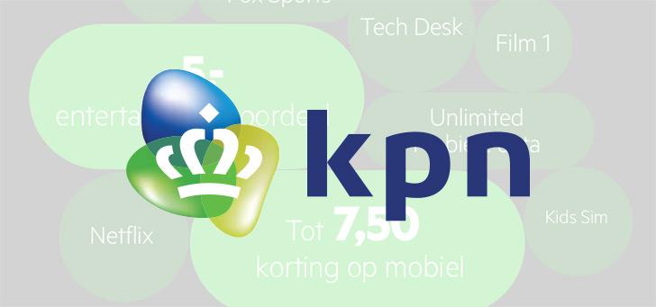 KPN verlaagt de prijs van het Unlimited-abonnement